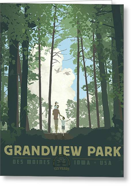 Grandview Park Greeting Card