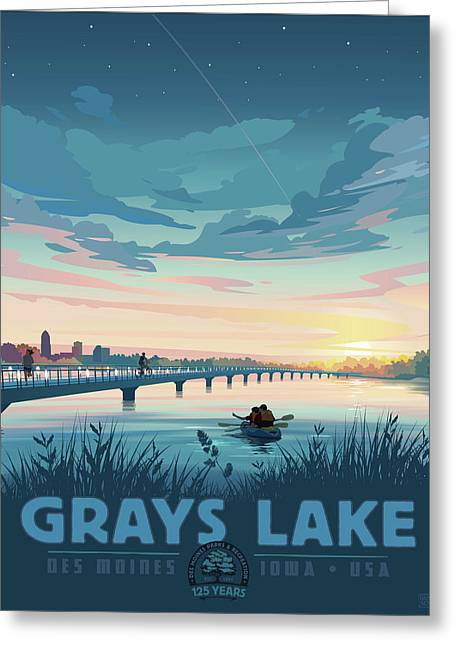 Grays Lake Greeting Card