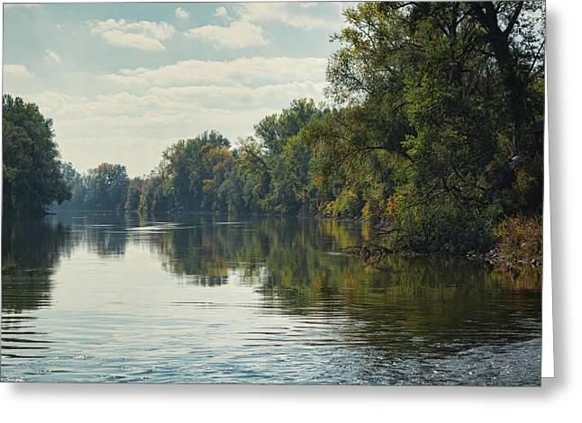Great Morava River Greeting Card