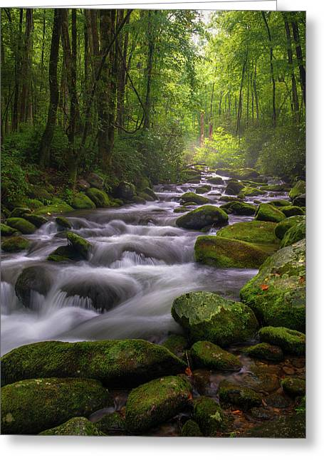 Great Smoky Mountains Gatlinburg Tennessee Greeting Card