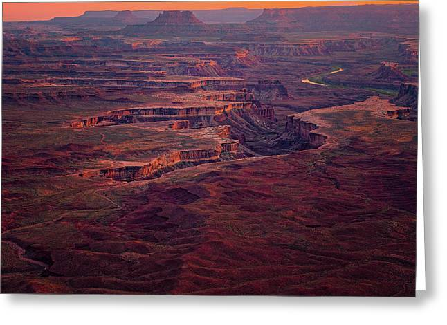 Green River Overlook Greeting Card