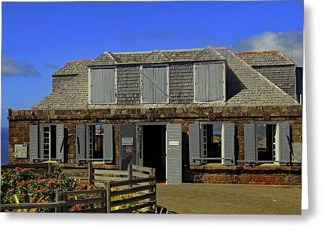 Greeting Card featuring the photograph Guardhouse by Tony Murtagh