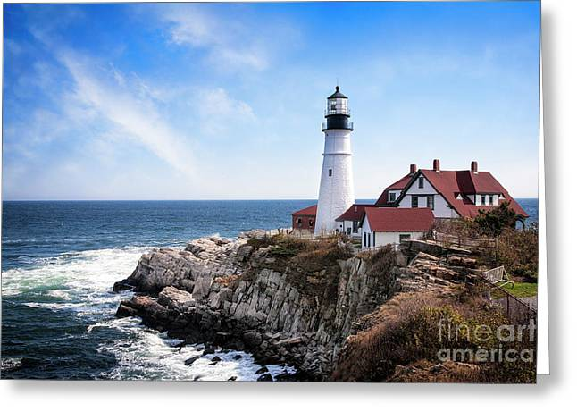 Greeting Card featuring the photograph Guardian Of The Sea by Scott Kemper