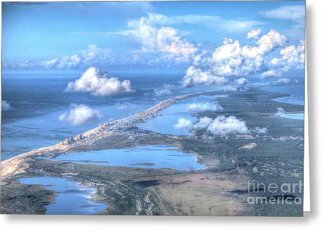 Gulf Shores-5094-tm Greeting Card