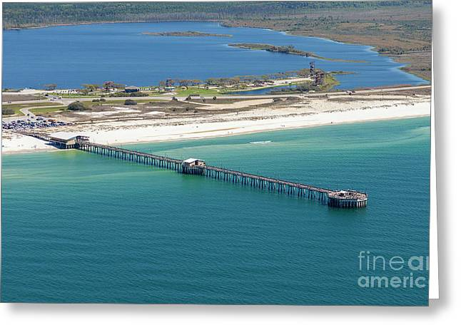 Gulf State Park Pier 7464n Greeting Card