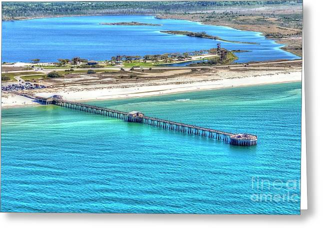 Gulf State Park Pier 7464p3 Greeting Card