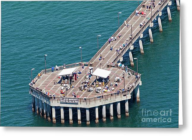 Gulf State Park Pier 7467 Greeting Card