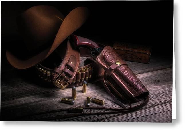 Gunslinger Greeting Card