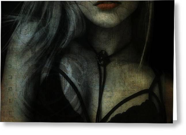 Gypsy - Stevie Nicks - Resize Greeting Card