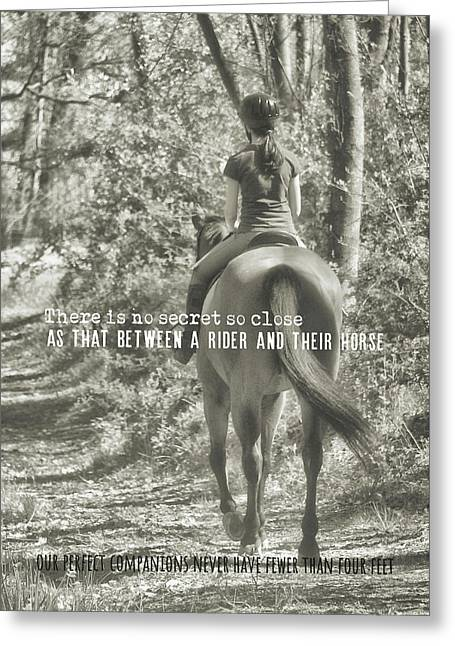 Hacking Quote Greeting Card by JAMART Photography