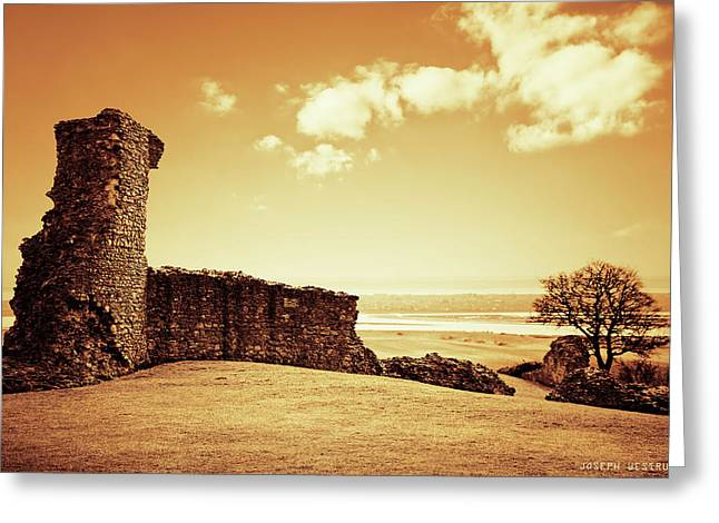 Hadleigh Castle Greeting Card