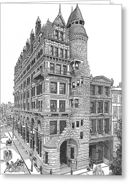 Hale Building Greeting Card