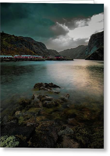 Hamnoy, Lofoten Islands Greeting Card