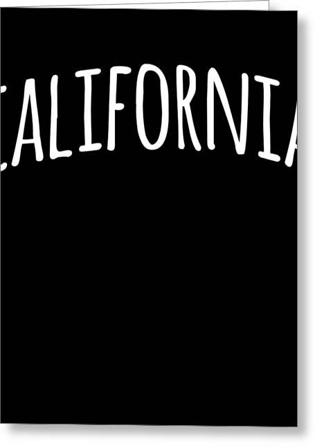 Hand California Greeting Card