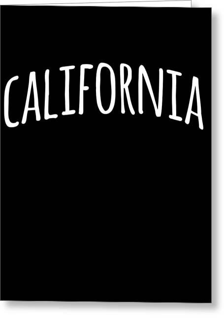Greeting Card featuring the digital art Hand California by Flippin Sweet Gear