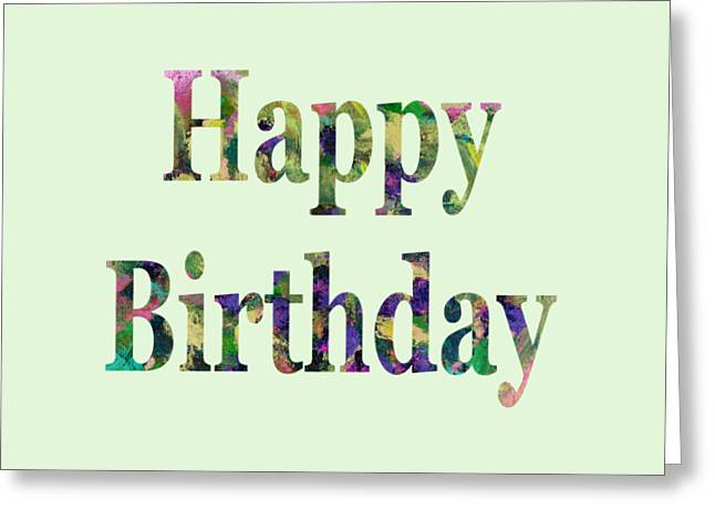 Happy Birthday 1005 Greeting Card