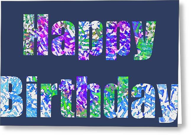 Happy Birthday 1006 Greeting Card