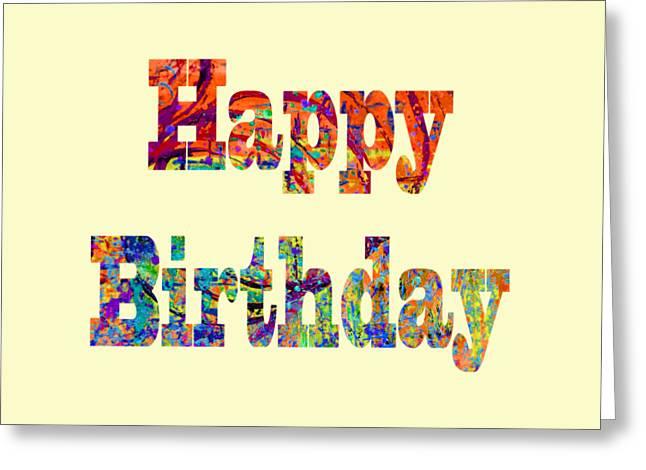 Happy Birthday 1007 Greeting Card
