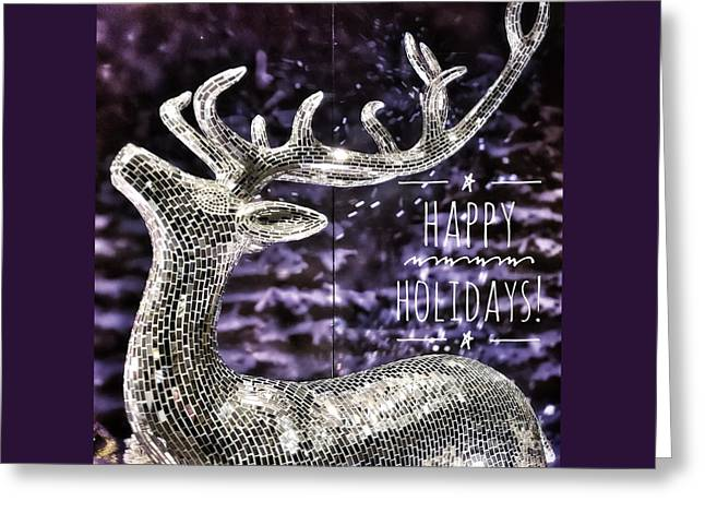 Happy Holiday Sparkle Greeting Card