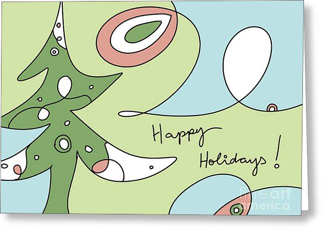 Happy Holidays 2018-1 Greeting Card