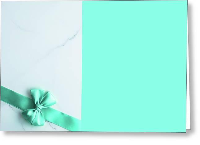 Hello Holiday V Greeting Card