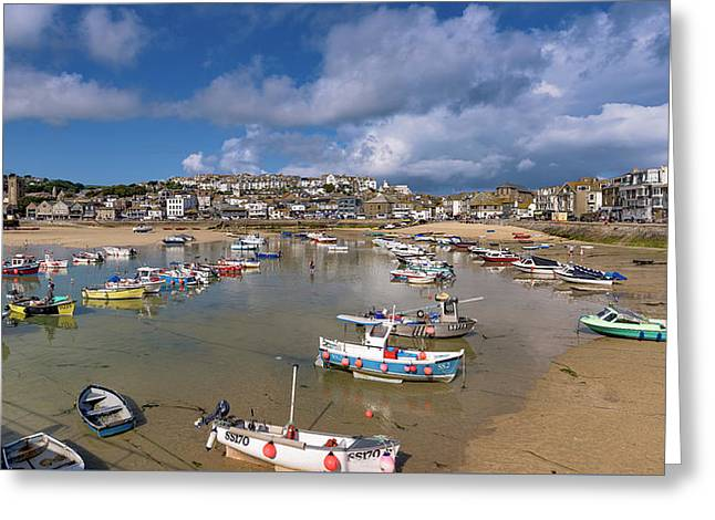 Harbour - St Ives Cornwall Greeting Card