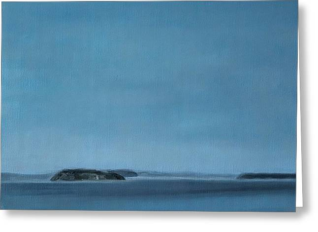 Hat Island View From Harborview Park Greeting Card