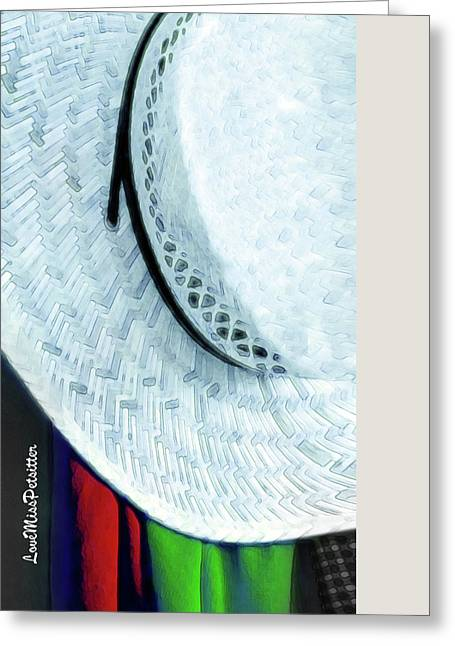 Hat Painting Greeting Card