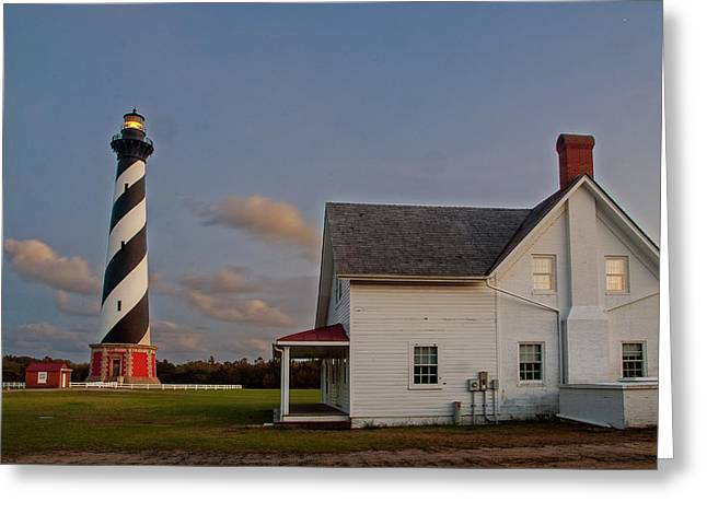 Hatteras Lighthouse No. 3 Greeting Card