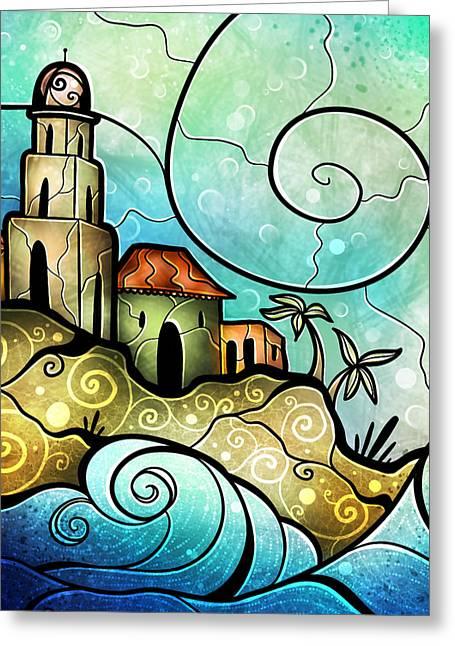 Havana Bay Greeting Card