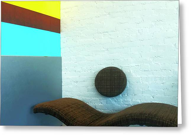 Greeting Card featuring the photograph Have A Seat by Rick Locke