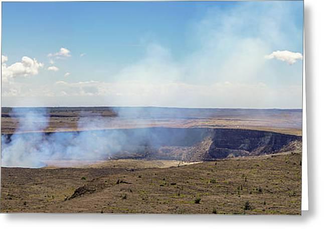 Hawaii Hale Ma'uma'u Volcano Crater Greeting Card