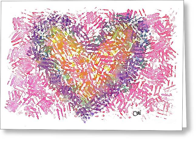 Heart 1006 Greeting Card