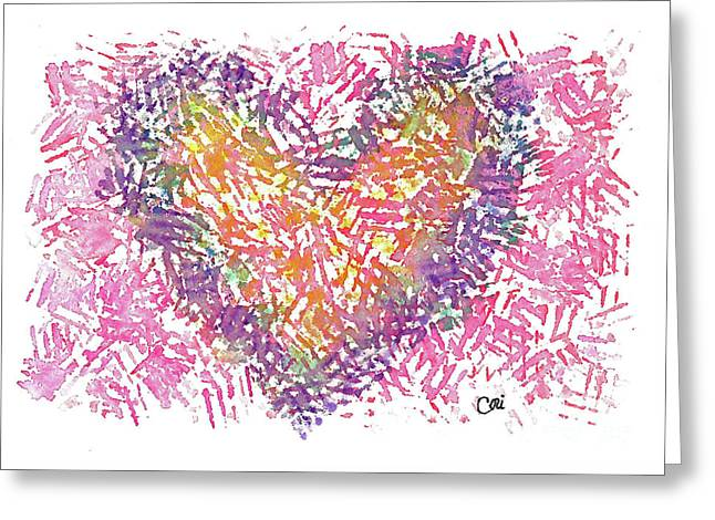 Heart 1006 Greeting Card