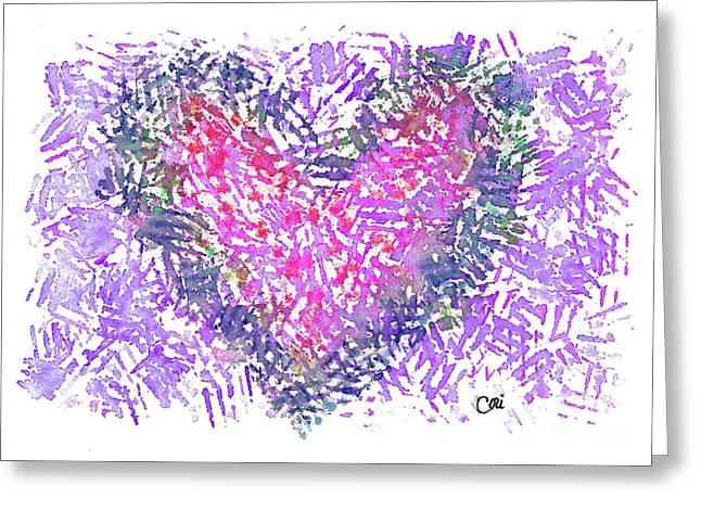 Heart 1007 Greeting Card