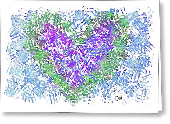 Heart 1008 Greeting Card