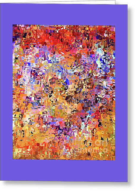Heart Abstract 1001 Greeting Card