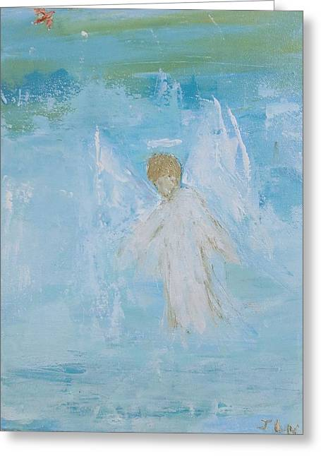Heavenly Angel Child Greeting Card