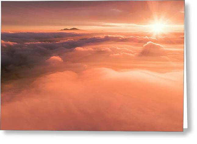 Heavenly Diablo Greeting Card by Vincent James