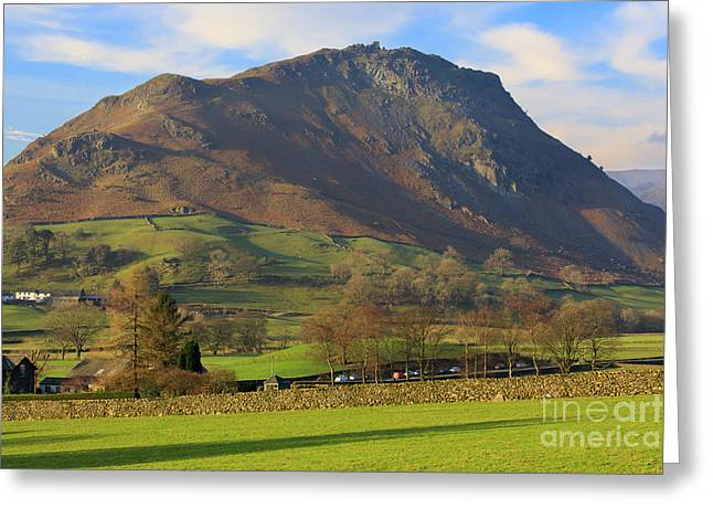 Helm Crag Near Grasmere In The Lake District National Park Greeting Card
