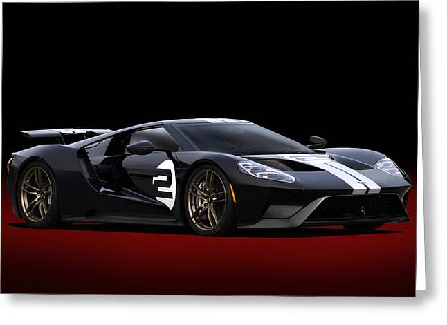 Heritage Ford Gt Greeting Card