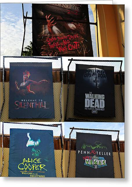 Hhn 22 Tribute Poster A Greeting Card