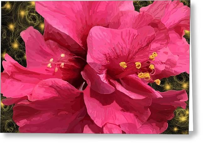 Hibiscus Pollen Greeting Card