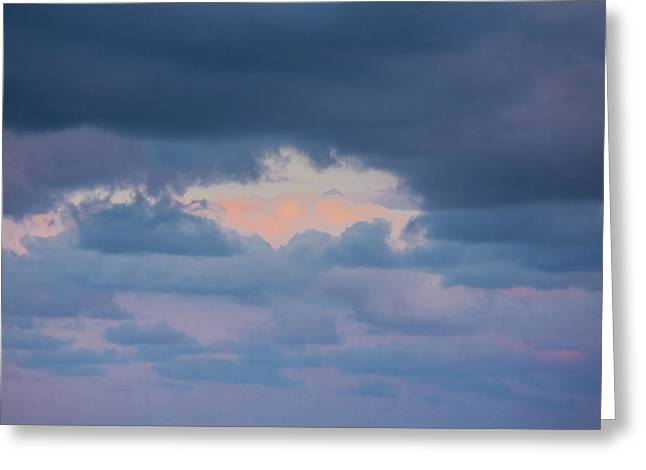 High Above The Clouds Greeting Card