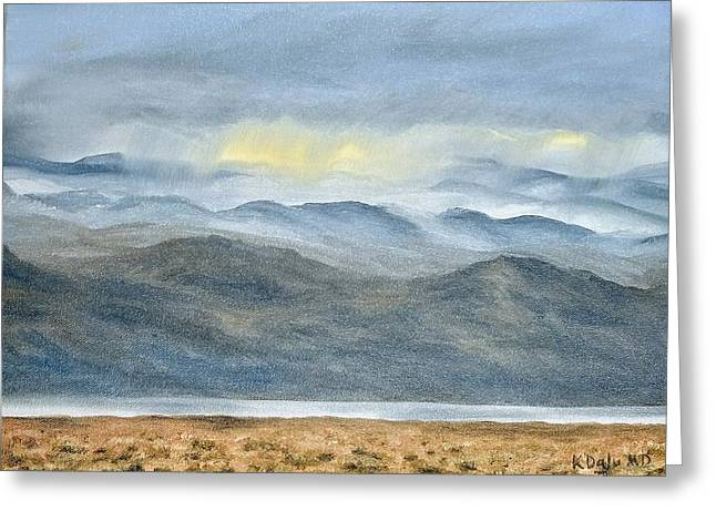 High Desert Morning Greeting Card