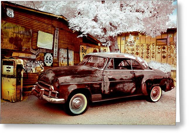 Highsmith Old Car Greeting Card