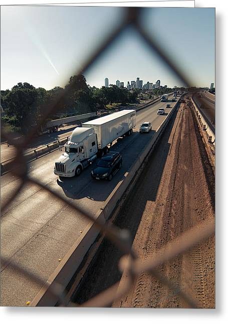 Highway Capture Greeting Card