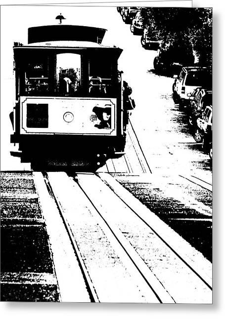 Hill Street Noir Greeting Card