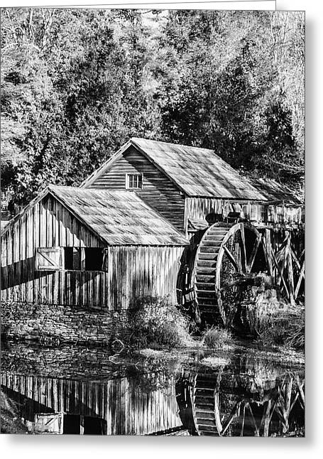 Historic Mabry Mill Greeting Card