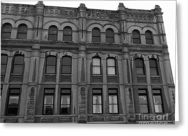Greeting Card featuring the photograph Historic Structures 3 by Jeni Gray
